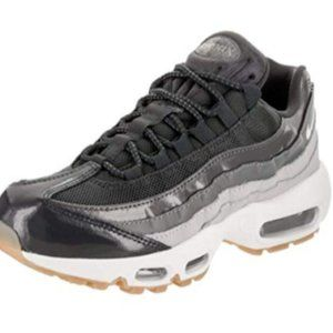 Wmns Nike Air Max 95 Running Shoes Anthracite Wolf